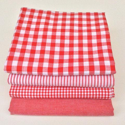 Simply Red Range - Extra Wide Fabrics - Fat Quarters and Bundles