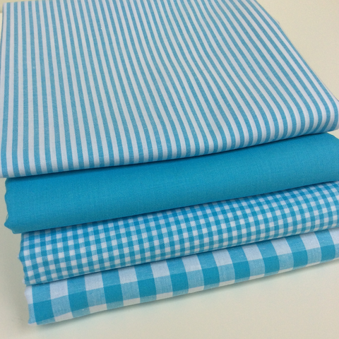 Simply Aqua Blue Range - Extra Wide Fabrics - Fat Quarters and Bundles