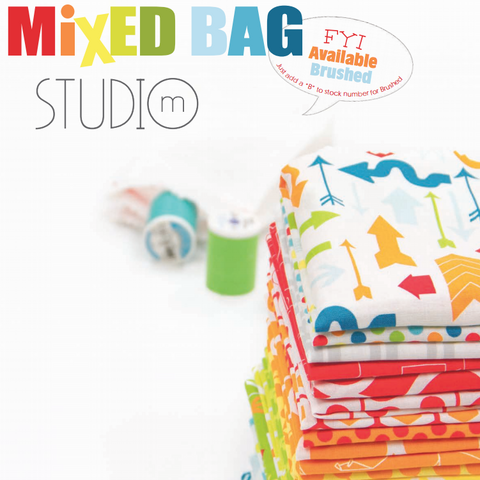 Mixed Bag Range by Studio M for Moda