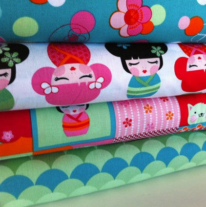 Hello Tokyo Range by The Thread Head for Robert Kaufman