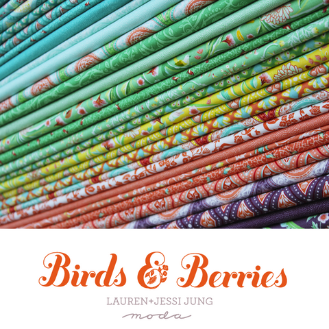 Birds & Berries Range by Lauren & Jessi Jung