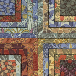 Morris Modernised Range by Barbara Brackman for Moda