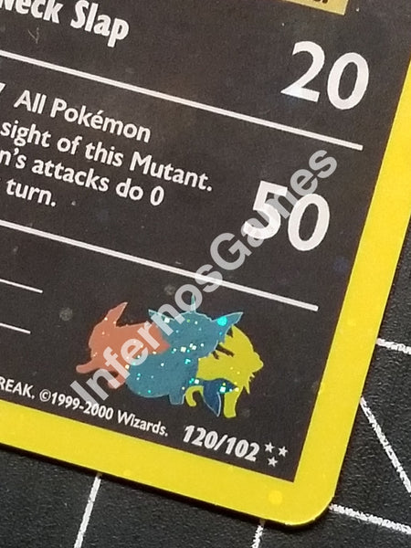 1St Edition Holo Mutant Eeveelution Vintage Wotc Style Custom Pokemon Card
