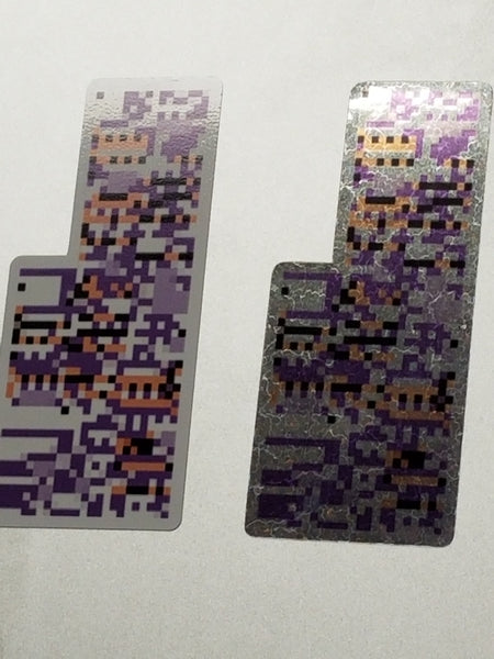 MissingNo. Sticker Decal Set (Holo and normal)