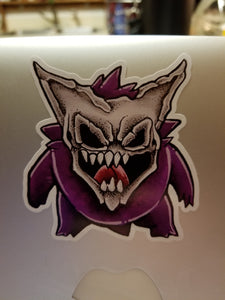 Reaper Gengar Vinyl Decal Sticker