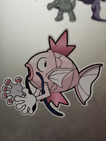 Mr. Karp Fusion Vinyl Decal Sticker