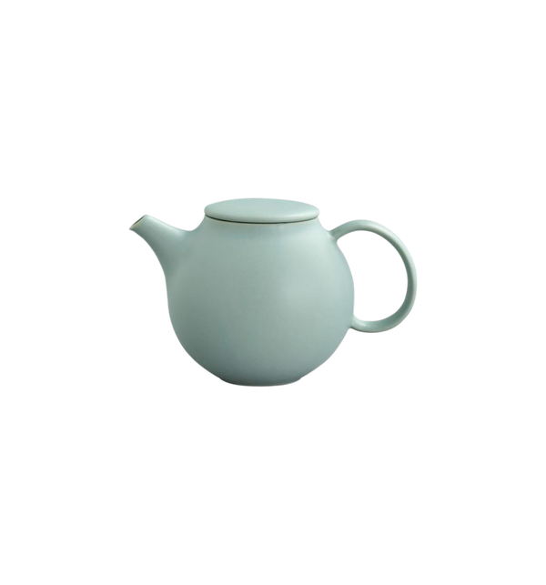 Pebble Teapot, Moss Green