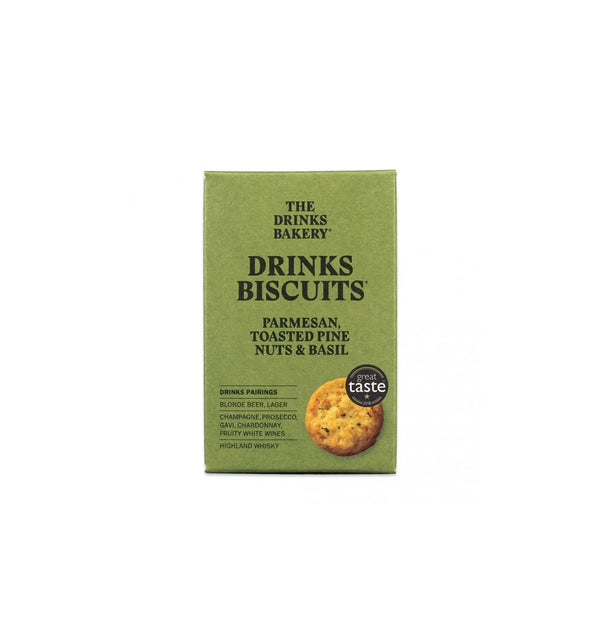 Drinks Biscuits - Parmesan Pine Nut & Basil