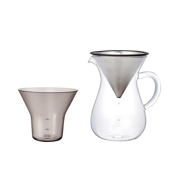 Stainless Coffee Carafe Set 600ml
