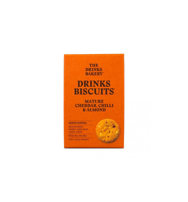 Drinks Biscuits - Cheddar Chilli & Almond