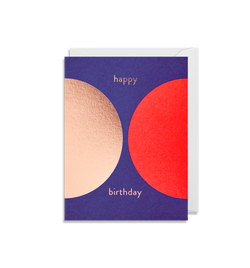 Happy Birthday Mini Card - Lagom Design