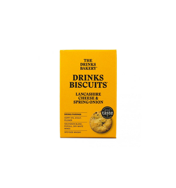 Drinks Biscuits - Lancashire Cheese & Spring Onion
