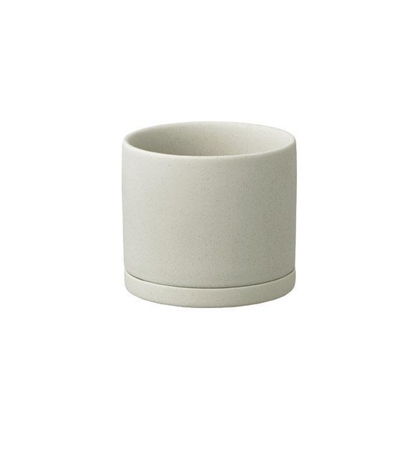 Unglazed Plant Pot, 85 mm