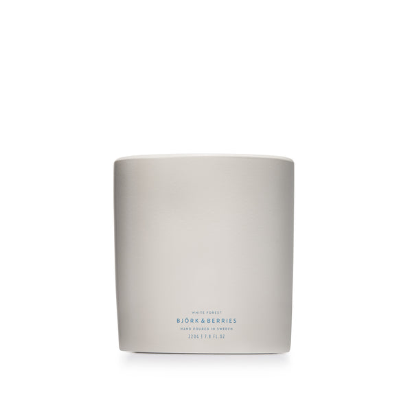 White Forest Scented Candle