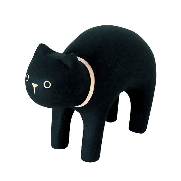 POLEPOLE Wooden Black Cat