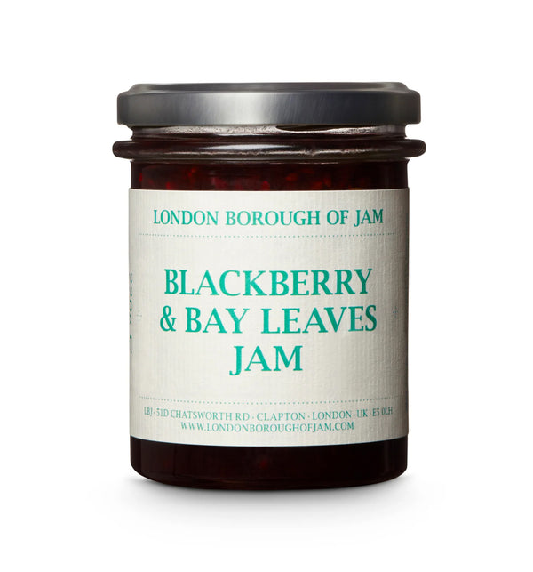 Blackberry & Bay Leaves Jam