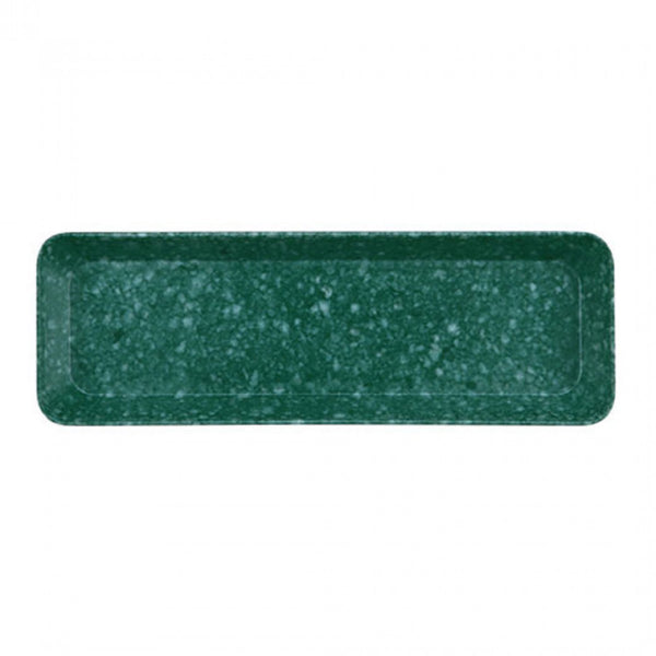 Marbled Pen Tray - Dark Green
