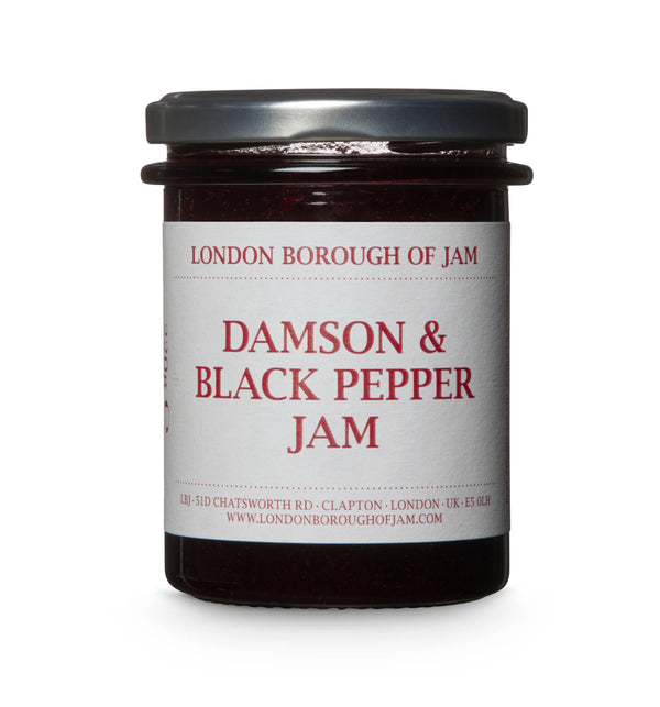 Damson & Black Pepper Jam