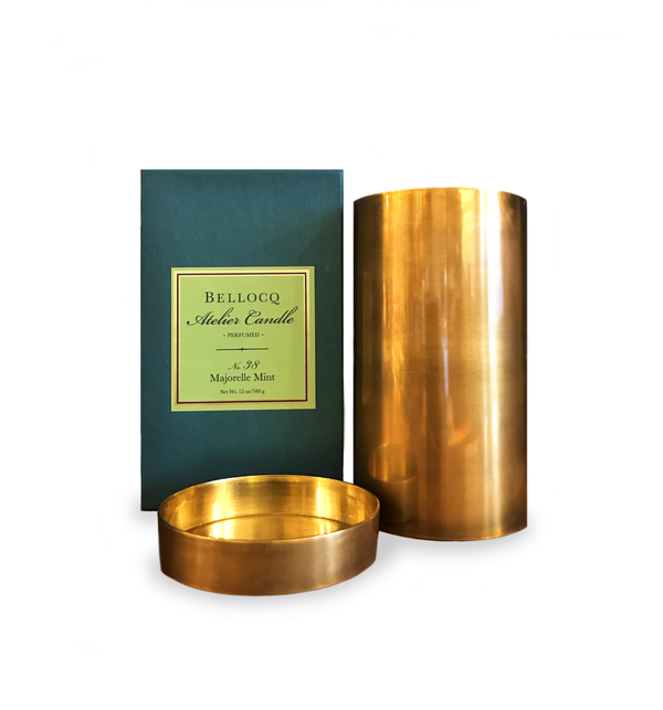 Bellocq No.38 Majorelle Mint Candle
