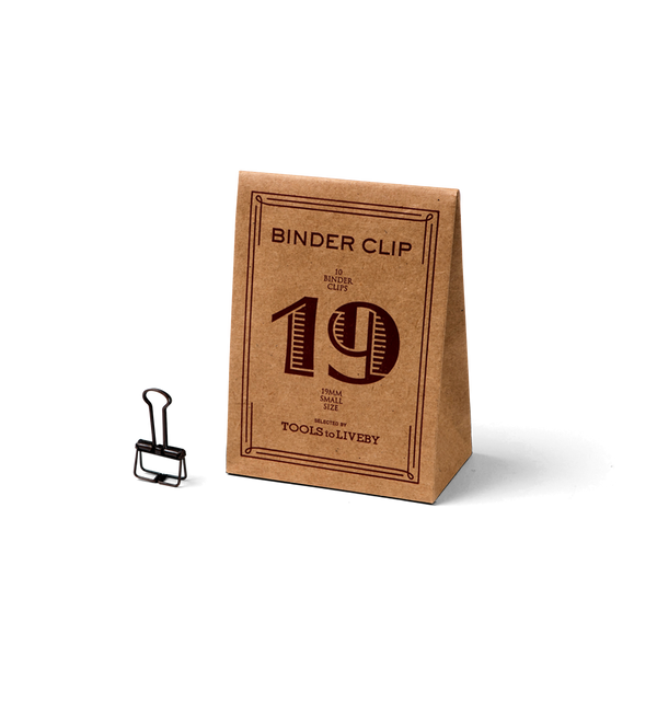 No. 19 Binder Clips - Bronze