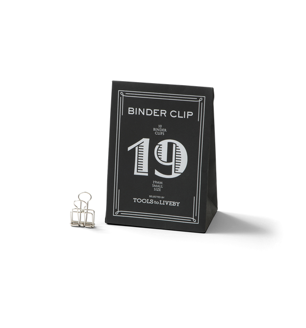 No. 19 Binder Clips - Silver