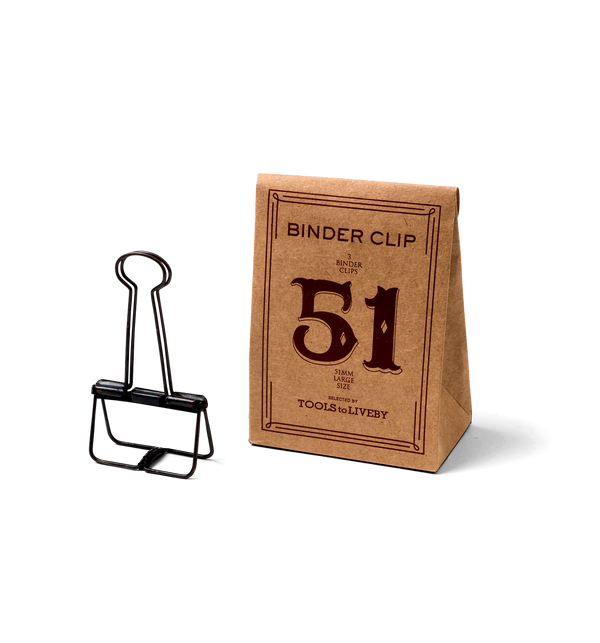 No. 51 Binder Clips - Bronze