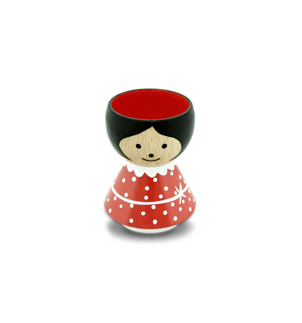 Red Spot Girl Eggcup