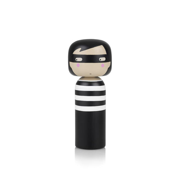 Thief Kokeshi Doll