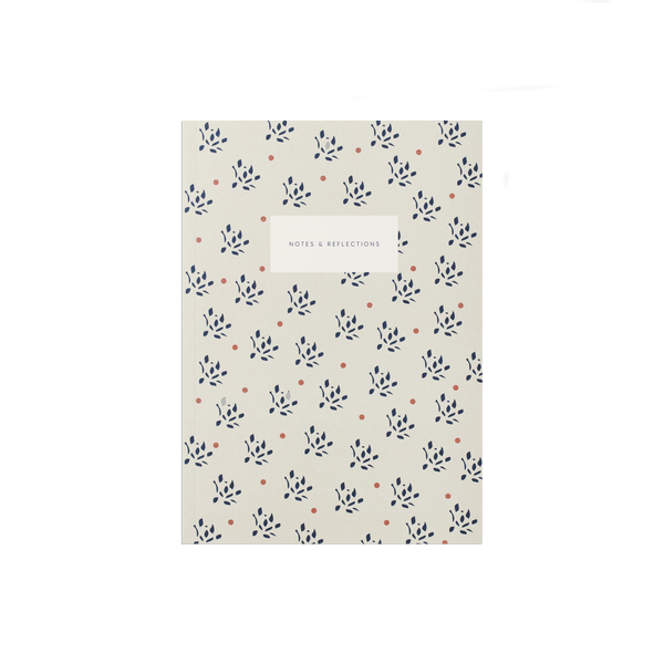 Notebook - Floral Sand