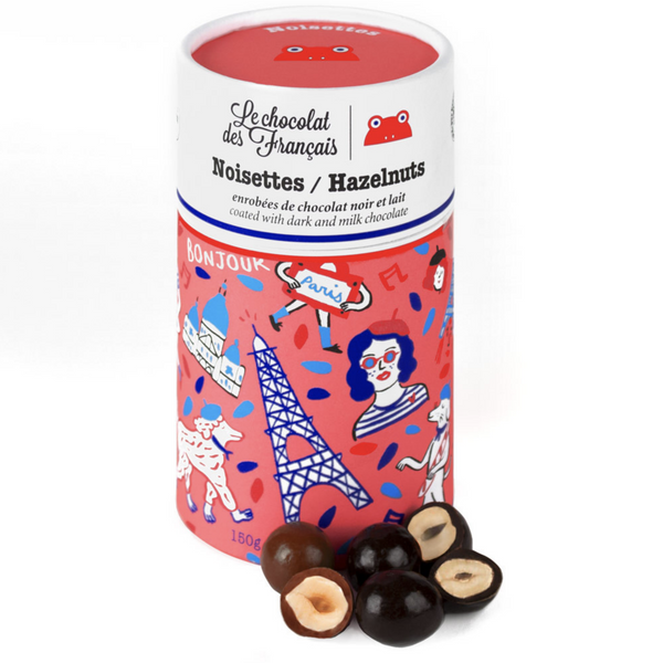 Box of Chocolate coated Hazelnuts125g