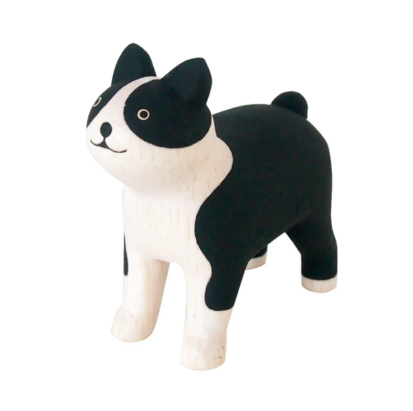 POLEPOLE Wooden Boston Terrier