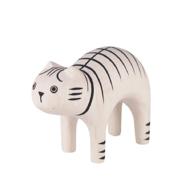 POLEPOLE Wooden Tiger Cat
