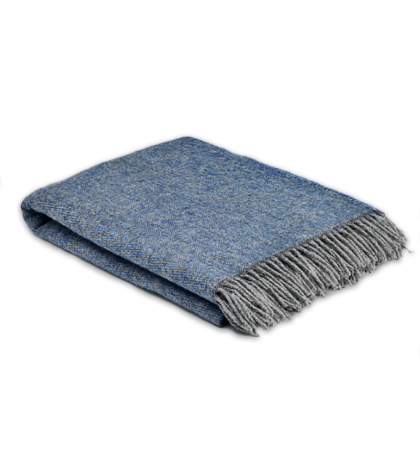 Home Cosy Blanket - Periwinkle