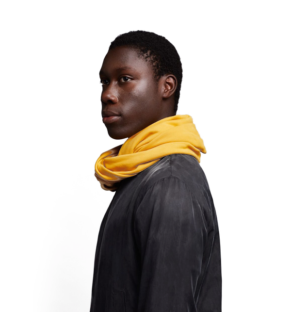 Essential Circle Scarf, Mustard
