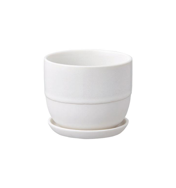 Dip Glazed Plant Pot, 140 mm