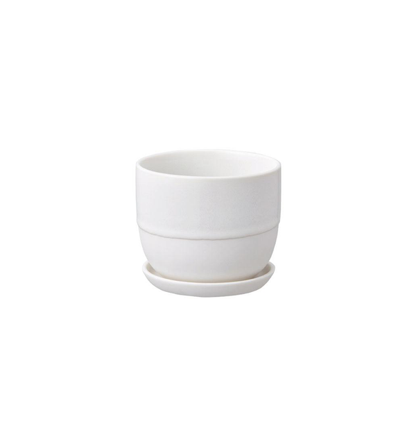 Dip Glazed Plant Pot, 110 mm