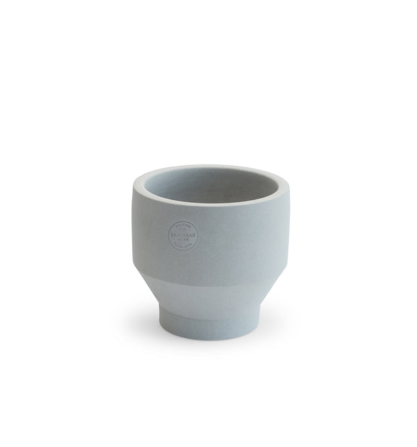 Edge Pot, Light Grey