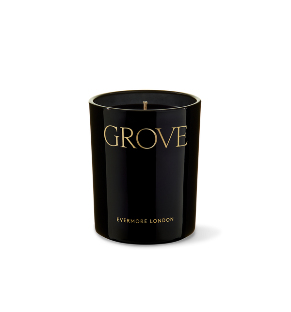 Grove Candle, Earth & Aged Pine