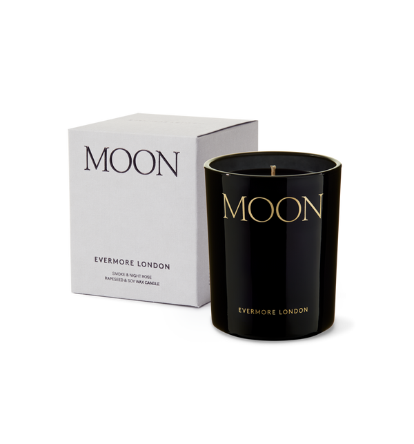Moon Candle, Smoke & Night Rose