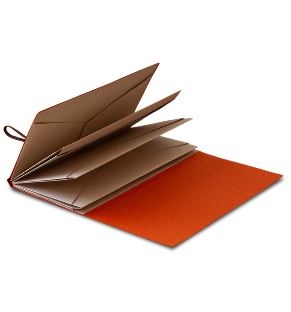 Origami Folder - Vermilion Orange
