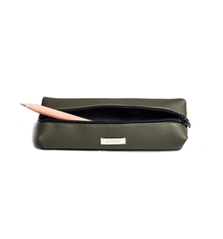 Pencil Case, Olive Green