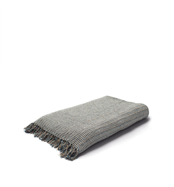 Land Plaid Cotton Throw