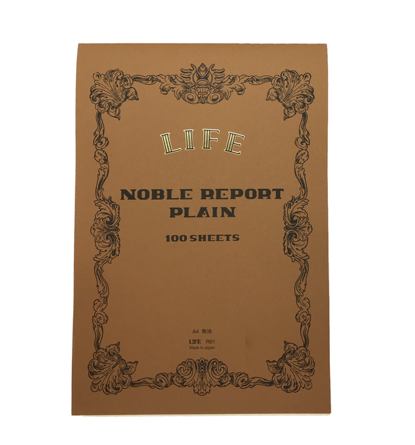 Noble Report Notebook, A4 Plain