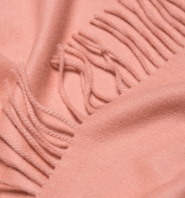 JURA Plain Scarf, Dusty Pink