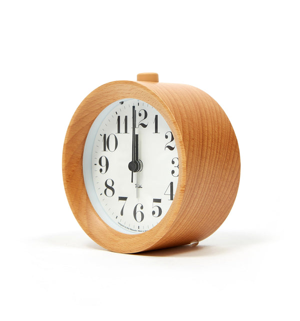 Lemnos Riki Alarm Clock - Natural