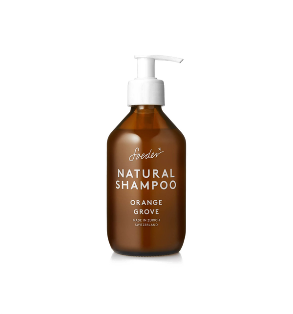 Natural Shampoo, Orange Grove