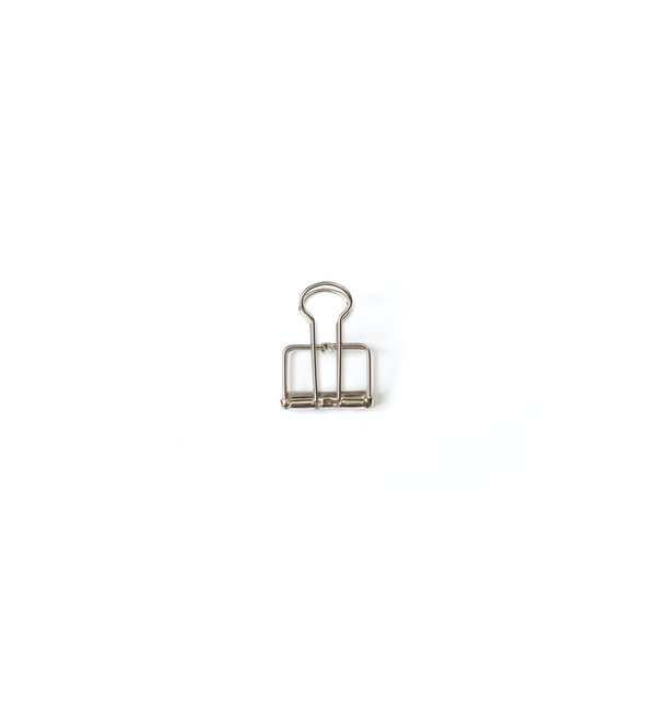 No. 19 Binder Clips - Silver - Lagom Design