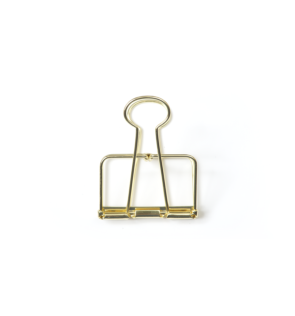 No. 51 Binder Clips - Gold - Lagom Design