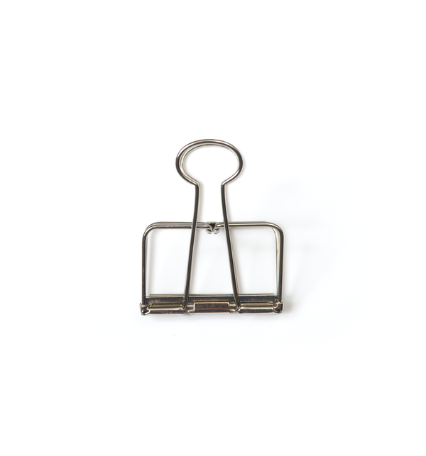 No. 51 Binder Clips - Silver - Lagom Design
