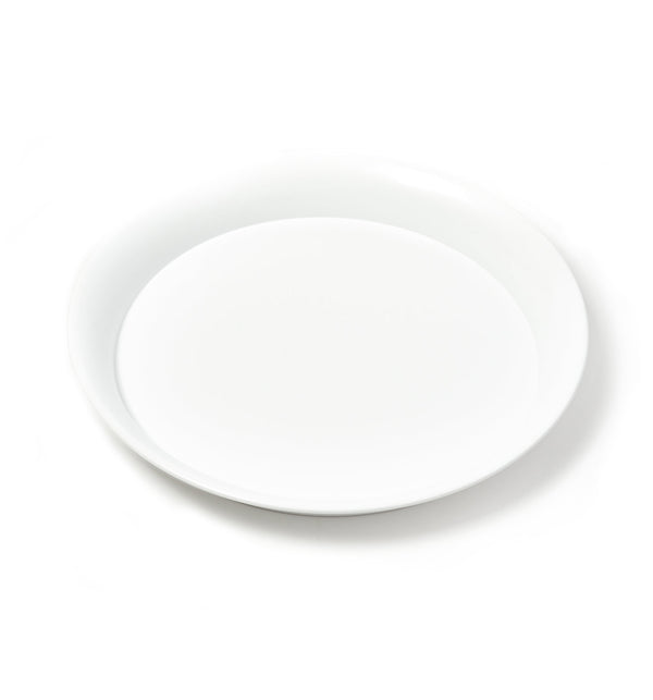 Spun Steel Tray - White